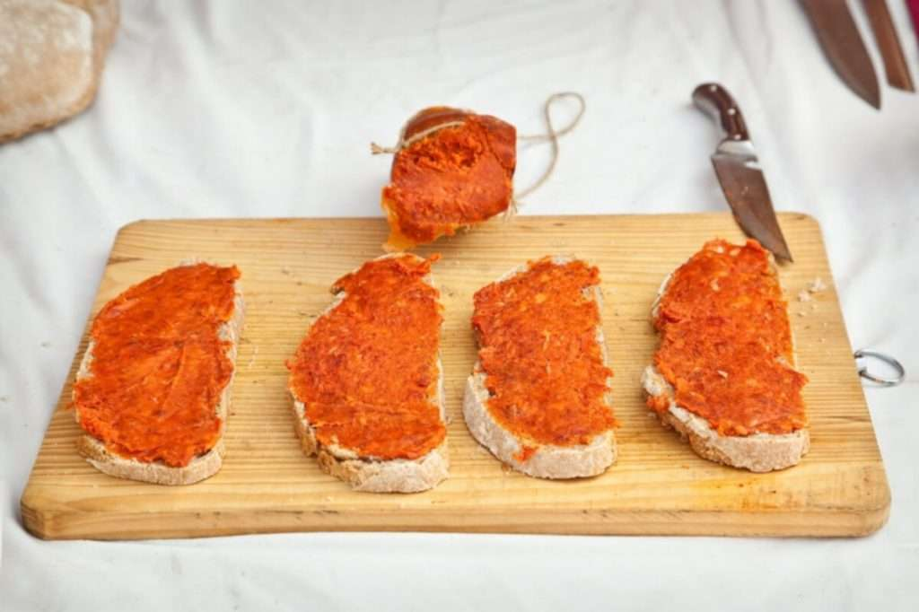 Sobrasada de Mallorca ON BREAD