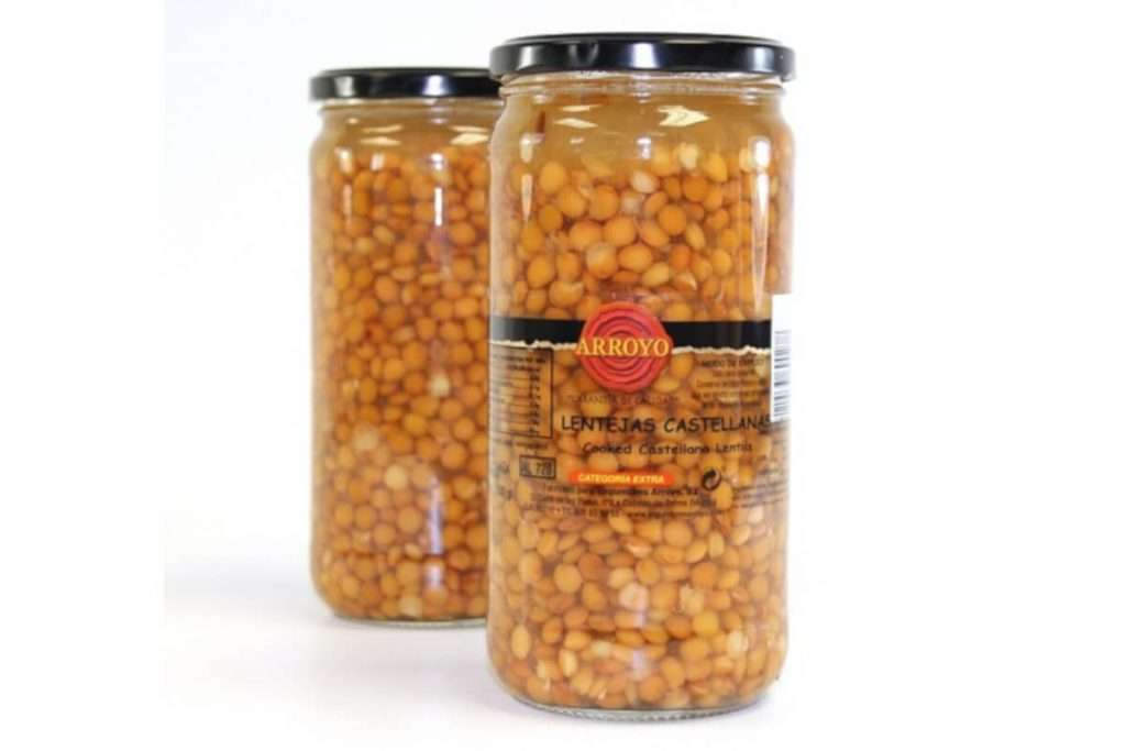 Castellana brown lentils