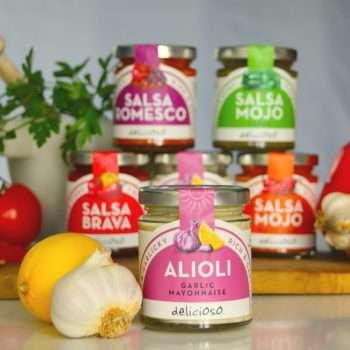Alioli garlic mayonnaise by Delicioso