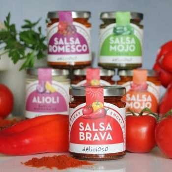 Salsa Brava sauce by Delicioso