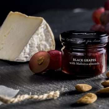 F70 Black Grapes with Mallorcan Almonds Cheese Pairing Condiment